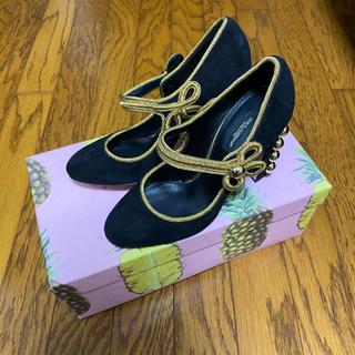 ドルチェアンドガッバーナ(DOLCE&GABBANA)のDolce&Gabbana ドルガバ パンプス 24.5cm 37 1/2(ハイヒール/パンプス)