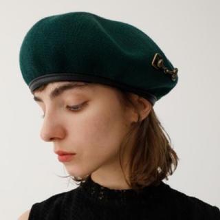マウジー(moussy)の限定値下げ★moussy ホースビットベレー (ハンチング/ベレー帽)