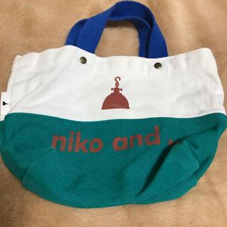 ニコアンド(niko and...)のニコアンドミニバック(ハンドバッグ)
