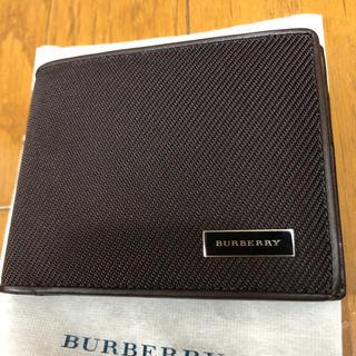 バーバリー(BURBERRY)の【新品未使用】バーバリー 二つ折り財布(折り財布)