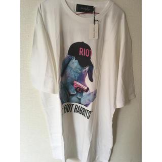 ミルクボーイ(MILKBOY)のmilkboy FAT BUNNY Tシャツ うさぎ(Tシャツ/カットソー(半袖/袖なし))