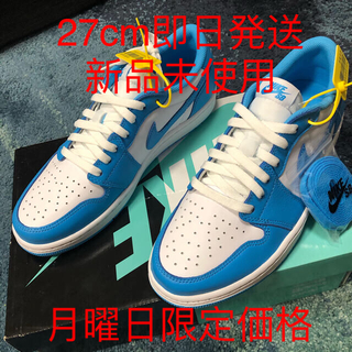 ナイキ(NIKE)のNIKE SB AIR JORDAN 1 LOW UNC 27cm(スニーカー)