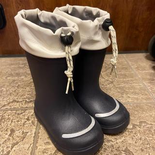 ムジルシリョウヒン(MUJI (無印良品))の無印 muji 長靴 レインブーツ 16 17(長靴/レインシューズ)
