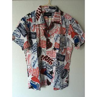 ミルクボーイ(MILKBOY)のmilkboy PATCH BOY SHIRTS パッチワークシャツ(シャツ)