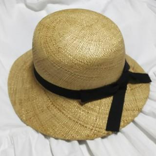 ネストローブ(nest Robe)のBERRETTA クルニー 帽子 ハット(麦わら帽子/ストローハット)
