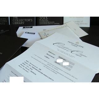パテックフィリップ(PATEK PHILIPPE)のPATEK PHILIPPE パテック フィリップ 5167A-001 保証書(その他)