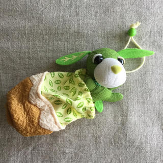 伊藤園 - 伊藤園「お茶犬」ぬいぐるみ付巾着