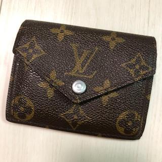 ルイヴィトン(LOUIS VUITTON)のルイヴィトン ミニ財布(折り財布)