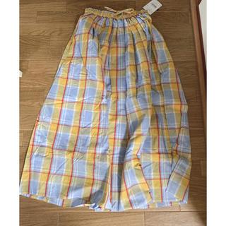 ロデオクラウンズワイドボウル(RODEO CROWNS WIDE BOWL)の新品未使用RODEOCROWNSロングスカート(ロングスカート)