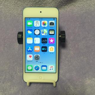 アイポッドタッチ(iPod touch)のiPod touch 第6世代ブルー(16GB)送料無料(ポータブルプレーヤー)