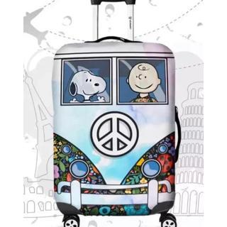 スヌーピー(SNOOPY)の1点限り スーツケースカバー スヌーピー   S(スーツケース/キャリーバッグ)