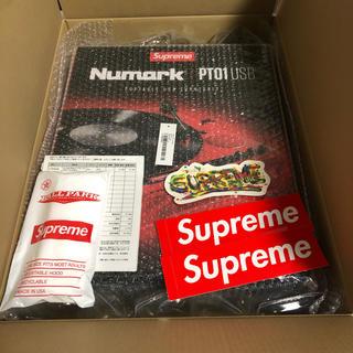 シュプリーム(Supreme)のsupreme numark pt01 turntable(ターンテーブル)