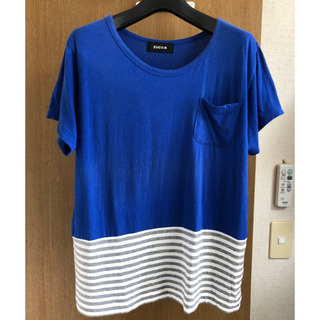 ズッカ(ZUCCa)の新品/未使用 ZUCCA ズッカ Tシャツ ボーダー Mサイズ(Tシャツ(半袖/袖なし))