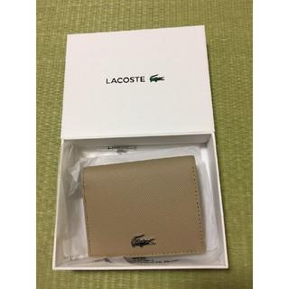 ラコステ(LACOSTE)の新品未使用 LACOSTE(ラコステ)財布(折り財布)