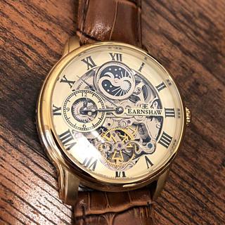 アーンショウ(EARNSHAW)のメンズ腕時計 アーンショウ 防水 オートマチック(腕時計(アナログ))