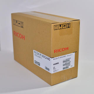 リコー(RICOH)のRICOH リコー製プロジェクターPJ WX2440 在宅ワーク ホームシアター(PC周辺機器)
