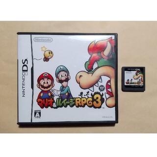 ニンテンドーDS(ニンテンドーDS)のDS マリオ&ルイージRPG3(携帯用ゲームソフト)