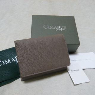 新品¥28,600 チマブエCIMABUE*ペリンガー社シュランケンカーフ財布(折り財布)