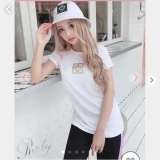 レディー(Rady)のRady/ホテルシリーズTシャツ/ホワイト/M(Tシャツ(半袖/袖なし))