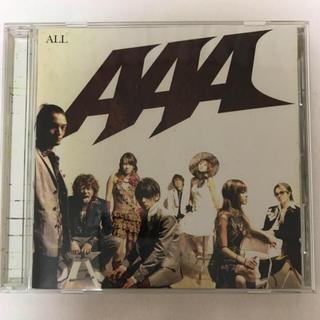 トリプルエー(AAA)の「ALL」アルバム AAA(ポップス/ロック(邦楽))