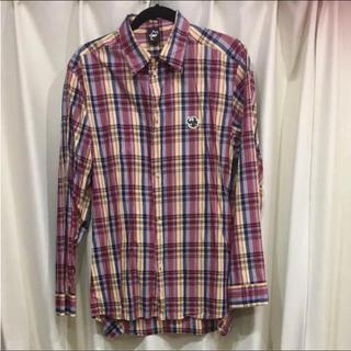 エヌジーエーピー(NGAP)のNGAP 仕立ての良いチェックシャツ 隠しポケット付き(シャツ)