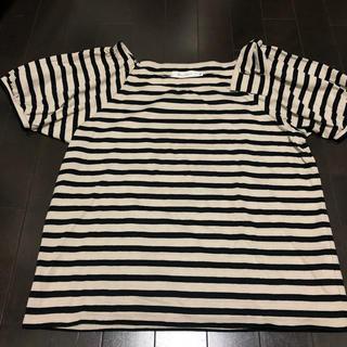 クチュールブローチ(Couture Brooch)のボーダー トップス(Tシャツ/カットソー(半袖/袖なし))