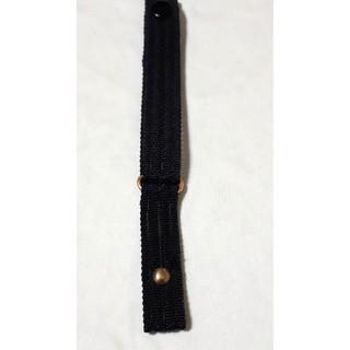 商品NO.105♪ラグ幅14mm【新品】maruman♪ブラック・ナイロンベルト