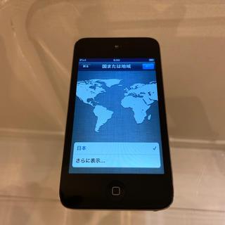 アイポッドタッチ(iPod touch)のiPod Touch 8GB  (第4世代)  アップル(ポータブルプレーヤー)