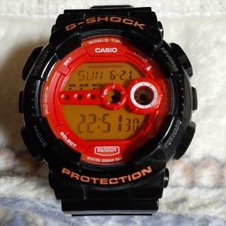 ジーショック(G-SHOCK)のGショック ブラック×オレンジ(腕時計(デジタル))