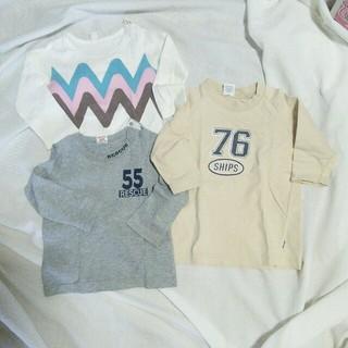 シップス(SHIPS)の90トップスセット☆SHIPほか(Tシャツ/カットソー)