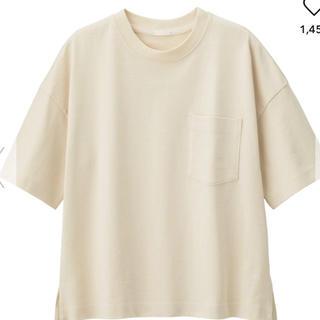 ジーユー(GU)のヘビーウェイトT(Tシャツ(半袖/袖なし))
