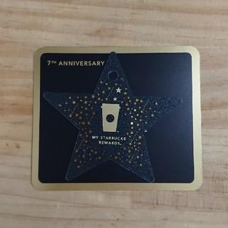 スターバックスコーヒー(Starbucks Coffee)の韓国スタバ☆7th記念星カード(その他)