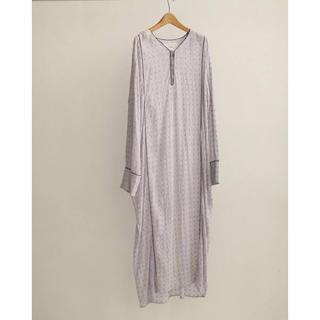 トゥデイフル(TODAYFUL)のTODAYFUL  Embroidery Voile Dress(ロングワンピース/マキシワンピース)