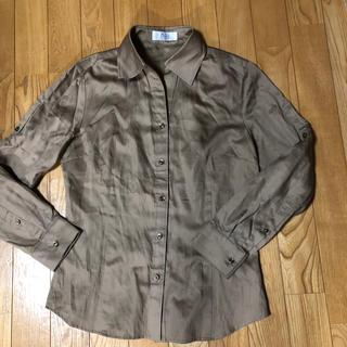 ジェイプレスレディス(J.PRESS LADIES)の新品 Jプレスのシャツブラウス(シャツ/ブラウス(長袖/七分))