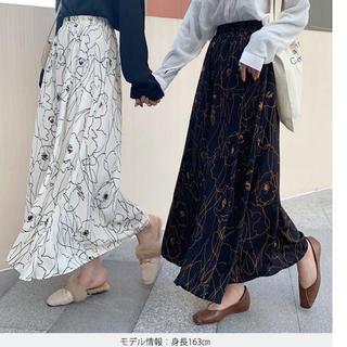 新品 シフォンスカート (ロングスカート)