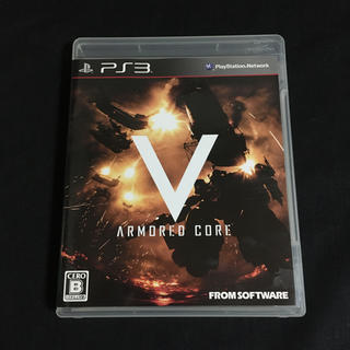 プレイステーション3(PlayStation3)のアーマード・コア V PS3(家庭用ゲームソフト)
