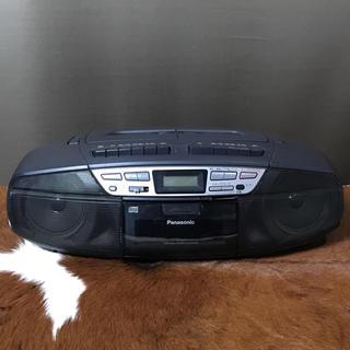 パナソニック(Panasonic)の★used★PanasonicパナソニックRX-DT37★ポータブルステレオCD(ポータブルプレーヤー)