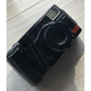 オリンパス(OLYMPUS)のOLYMPUS IZM 230、QUARTZDATE、ブラック(フィルムカメラ)