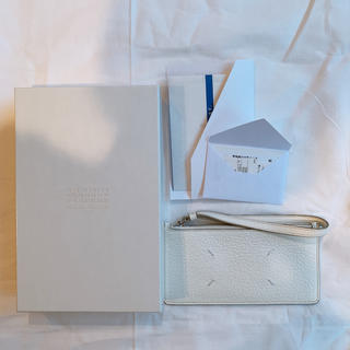 マルタンマルジェラ(Maison Martin Margiela)のMAISON MARGIELA ロングレザーカードホルダー(財布)