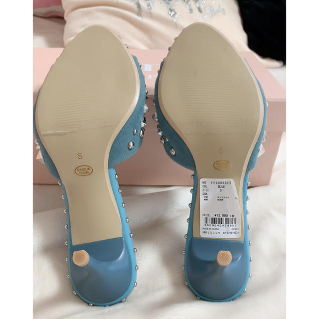 eimy istoire(エイミーイストワール)のeimyistoire 半額以下❤スタッズミュール❤他にも多数出品中 レディースの靴/シューズ(ミュール)の商品写真