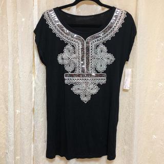 ロングTシャツ♡未使用品(Tシャツ(半袖/袖なし))