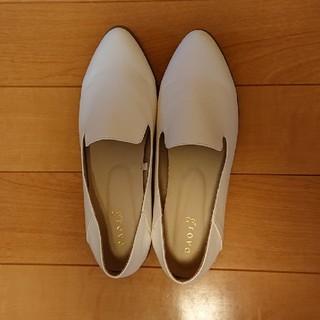 グローブ(grove)のレディース 靴 白(ハイヒール/パンプス)