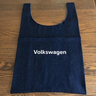 フォルクスワーゲン(Volkswagen)の【新品】フォルクスワーゲン デニムマルシェバック(エコバッグ)
