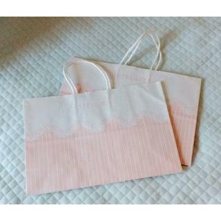 アンテシュクレ(intesucre)の<アンテシュクレ>ショップ袋 2枚(ショップ袋)