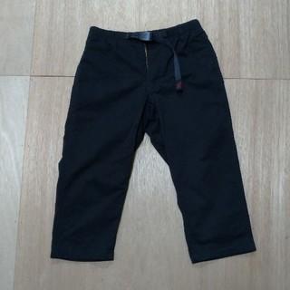 グラミチ(GRAMICCI)のGRAMICCI MIDDLE CUT PANTS Sサイズ ブラック(ワークパンツ/カーゴパンツ)