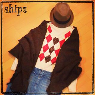 シップス(SHIPS)の♡ships アーガイルニット♡(ニット/セーター)