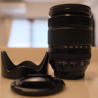フジフイルム(富士フイルム)のお値打ち☆富士フイルム xf18-135mm  便利ズーム(レンズ(ズーム))