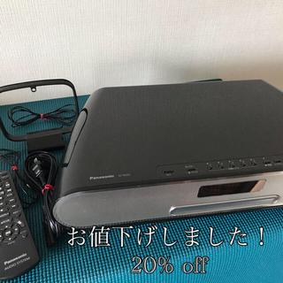 パナソニック(Panasonic)のパナソニック コンパクトステレオ SC-RS55-K(ポータブルプレーヤー)