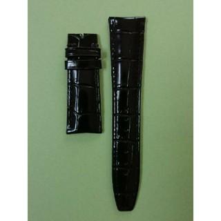 インターナショナルウォッチカンパニー(IWC)の未使用品 IWC 革バンド 黒 22ミリ(レザーベルト)