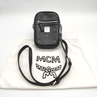 MCM - 【極美品】MCM エムシーエム ヴィセトス クロスボディバッグ ブラック